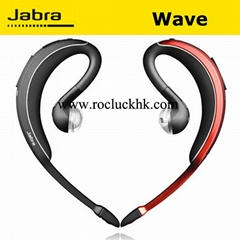 Jabra WAVE Bluetooth Headset Business Handsfree Voice Guide DSP Noise Cancel