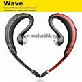 Jabra WAVE Bluetooth Headset Business Handsfree Voice Guide DSP Noise Cancel