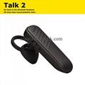 Talk 2 Ear Hook In-Ear Bluetooth Earphone HD Voice Clear Conversation Talk2