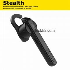 Jabra Stealth Bluetooth Wireless Earphone HD Voice Control Noise Reduction