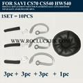 10pcs/Set Plantronics SAVI CS70 CS540 HW540 Replacement Parts Original