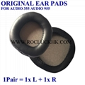 For Plantronics Headset Original Leather Earpads Ear Pads Cushion Cups Cover