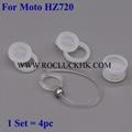 For Motorola Elite Flip HZ720 Eartips Earhooks Silicone Earbuds Eargels Ear hook
