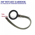 For Motorola H17 H520 H525 HZ550 Bluetooth Headset Earhooks Earloops Earclips