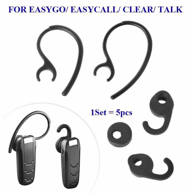 For Jabra Easygo Easycall Clear Talk Ear tips buds gels hooks Eargels Earhooks 1