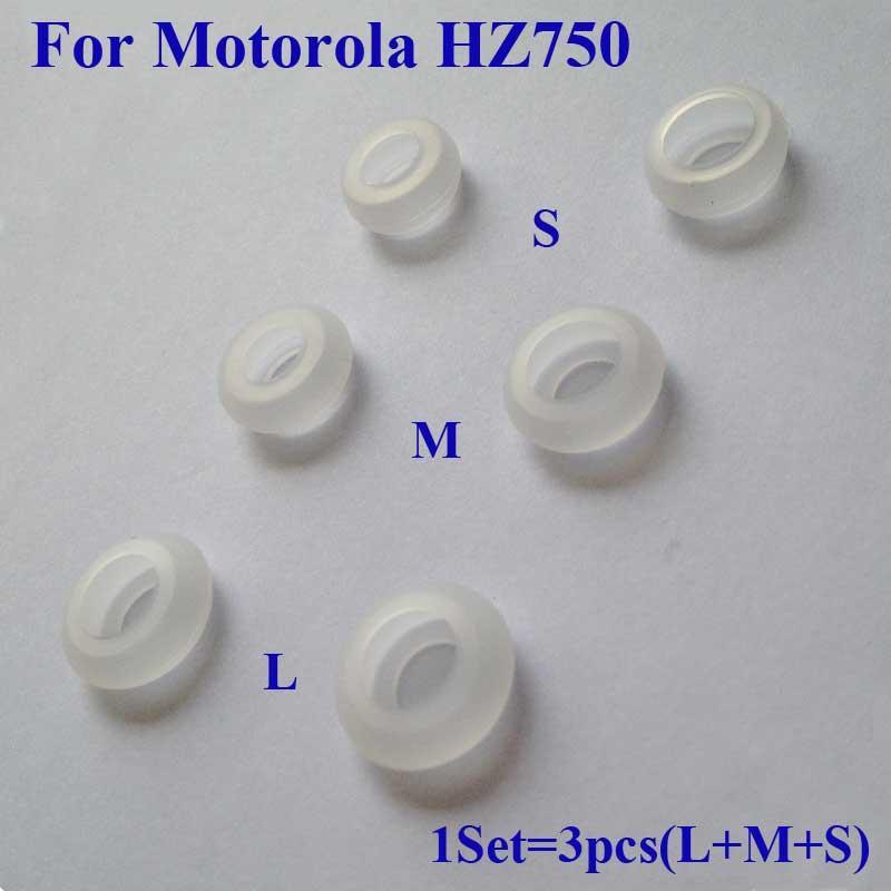 For Motorola Elite Sliver HZ750 Bluetooth Headset Eargels Eartips Earbuds