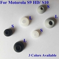 For Motorola S9 S9 HD S10 HD Eartips Earbuds Eargels White Black Grey Color