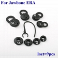 For Jawbone ICON ERA HD Silicone Earbuds Eartips Eargels with 7mm Rotate Earhook