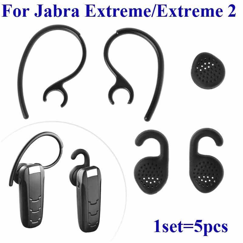 For Jabra Extreme 2 Stealth Earbud Eartip Eargel Earhook Earloop 1
