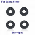 For Jabra Stone Blueooth Headset Earbuds Eartips Eargels Silicone Ear tips buds