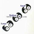 For Jabra Evolve 75e Elite 65e 45e Silicone Earwing Earhook Earloop Ear hooks