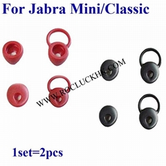 For Jabra Mini Classic Bluetooth Headset Silicone Earbuds Eartips Eargels