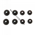 For Sony XBA MDR DR Series Earphone Hybrid Silicone Earbuds Eartips I.D 4mm