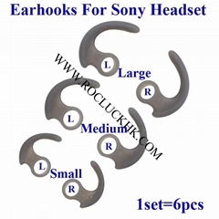 For Sony MDR-XB510AS MDR-XB50BS Sports Headphone Silicone Earhooks Earloops  (Hot Product - 1*)