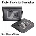 Sennheiser Pocket Pouch PU Storage Bag For IE80,IE400,IE500,IE800