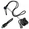 Micro USB Lanyard For Plantronics Jabra Samsung Bluetooth Headset