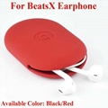 For Beats Inner Earphone Soft Silicone Carry Case Beatsx Storage Case