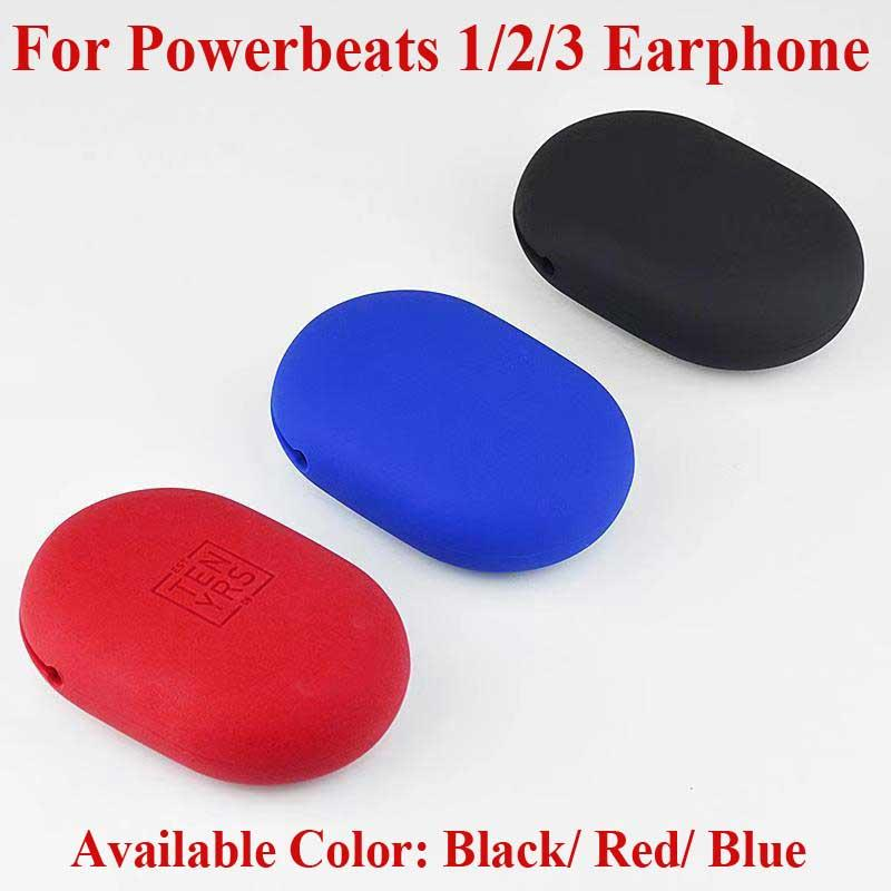 For Powerbeats Bluetooth Headset Soft Silicone Carry Case Beats Storage Case