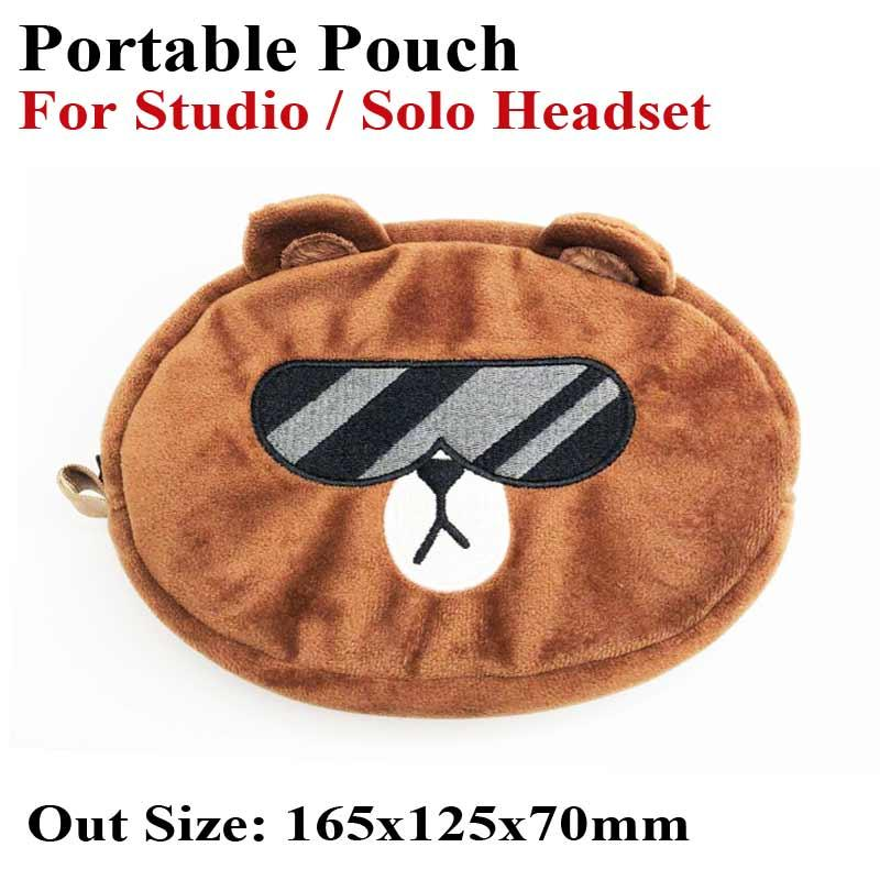 Beats Portable Pouch For Studio Solo Headset Plush Doll Bag