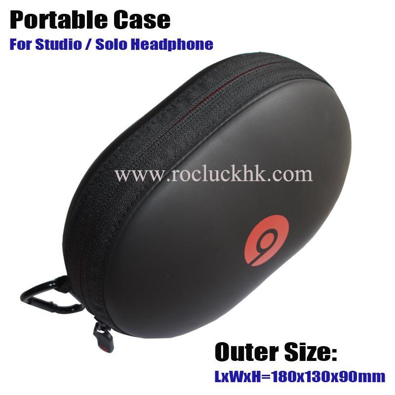 For Beats Studio Solo Headset Portable Case EVA Storage Bag