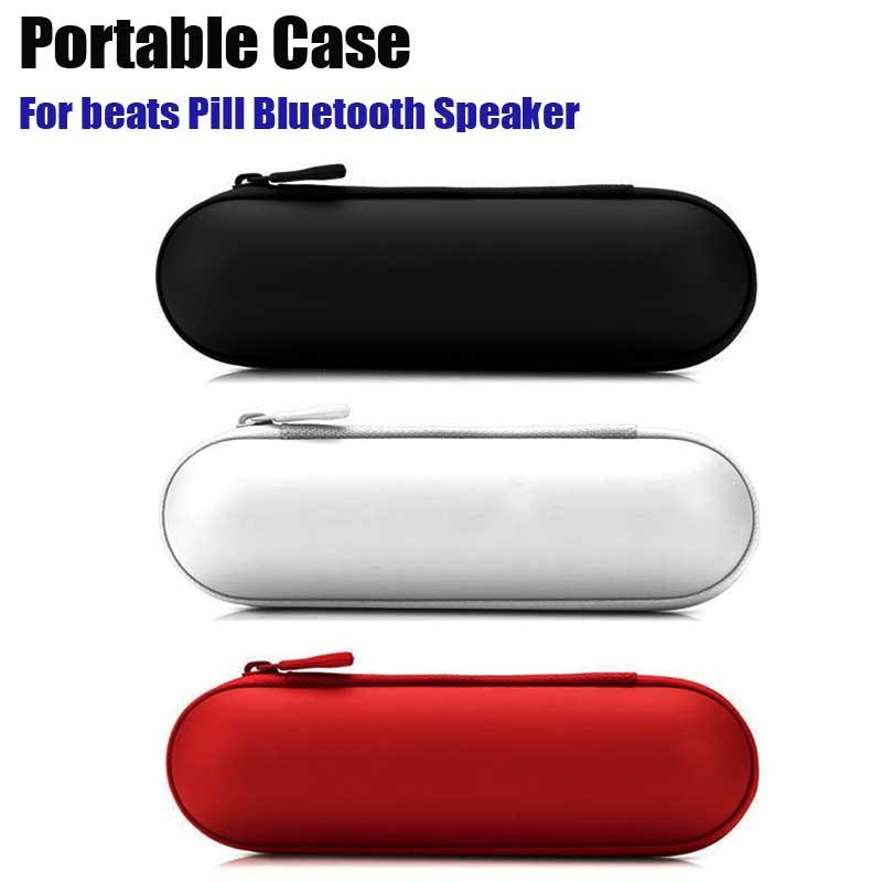 For Beats Pill Bluetooth Speaker EVA Portable Case with logo 1