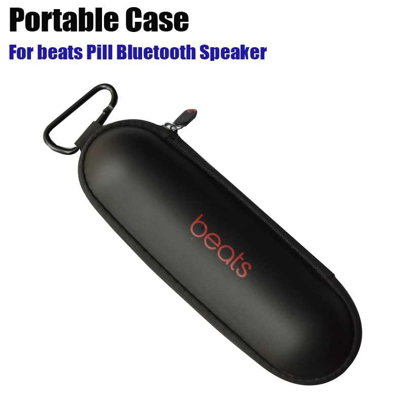 For Beats Pill Bluetooth Speaker EVA Portable Case with logo 2