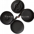 For Monster Beats in-ear Earphone Pocket Size Round Carrying Case Storage Pouch