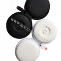 For Monster Beats in-ear Earphone Pocket Size Round Carrying Case Storage Pouch  8
