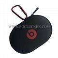 For Powerbeats Headset BeatsX Pocket Size Ellipse Carrying Case Storage Pouch  2