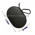For Powerbeats Headset BeatsX Pocket Size Ellipse Carrying Case Storage Pouch  3