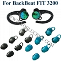 For Backbeat FIT 3200  Plantronics Eartips Silicone Earbuds Original 1