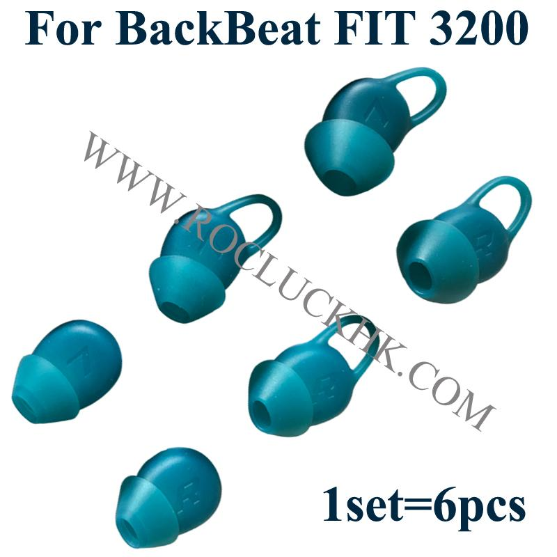 For Backbeat FIT 3200  Plantronics Eartips Silicone Earbuds Original 2