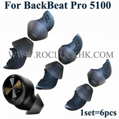 For Backbeat Pro 5100  Plantronics Eartips Silicone Earbuds Original