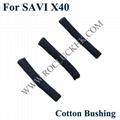 For SAVI X40 Replacement Plantronics Parts 10pcs/Set Original