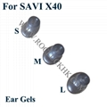 For SAVI X40 Plantronics Headset Replacement Parts 9pcs/Set Original