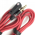 For Monster Beats Audio Cable male to male L Plug Studio Solo headphone 6