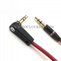 For Monster Beats Audio Cable male to male L Plug Studio Solo headphone 9