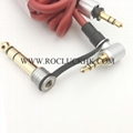 For Monster Beats Pro Detox Mixr Headphone 3.5mm 6.5mm Audio cord line AUX cable
