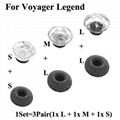 For Plantronics Voyager Legend Eargels Eartips Genuine Ear Gels Tips 2