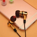 3.8mm Dual Color Twice Forming Bullet Shape Silicone Eartips Eargels 4