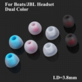 3.8mm Dual Color Eartips Silicone Single