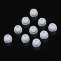3.8mm Dual Color Eartips Silicone Single Forming Ear Tips 7