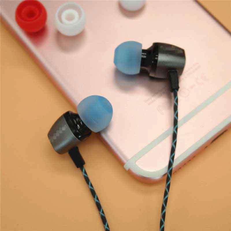 3.8mm Silicone Eartips Bullet Shape Ear Tips  3