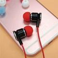 3.8mm Silicone Eartips Bullet Shape Ear Tips  4