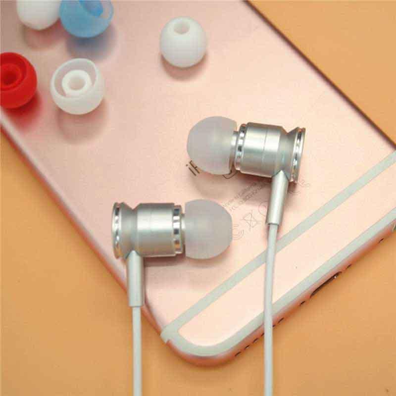 3.8mm Silicone Eartips Bullet Shape Ear Tips  6