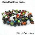 4.5mm Dual Color Eartips For Philips Beats Ear Tips