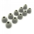 4.5mm Double Flange Silicone Eartips For Beats Ear Tips  4
