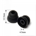 4.5mm Double Flange Silicone Eartips For Beats Ear Tips  2