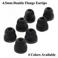 4.5mm Double Flange Silicone Eartips For Beats Ear Tips