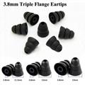 3.8mm Triple Flange Eartips For Beats